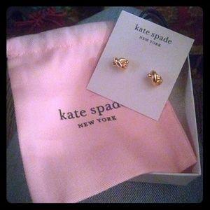 Jewelry - Kate Spade sailor knot earrings